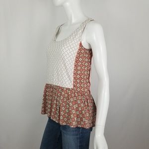 Anthropologie Patterned Tank